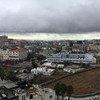 منظر لمخيم الأمعري للاجئين الفلسطينيين قرب رام الله