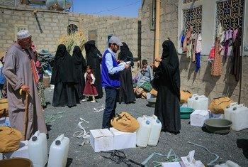 مليحة هي واحدة من بين أكثر من 14 ألف نازح إلى مأرب والجوف في اليمن خلال الأسبوعين الماضيين