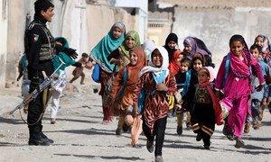 Only a fifth of girls under 15 years old are literate in Afghanistan.