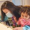 Une jeune mère et son enfant, originaires du Guatemala, vivent aux Etats-Unis.