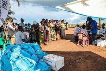 Wakimbizi wa ndani walio katika jimbo la Kasai nchini Jamhuri ya Kidemokrasia ya Kongo, DRC