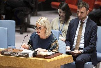 Специальный представитель Генерального секретаря в Ираке Джанин Хеннис-Пласшерт