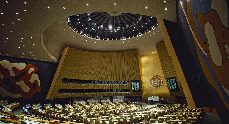 联合国大会堂.