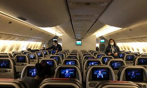 Les voyages en avion ont très fortement diminué pendant la pandémie de Covid-19.