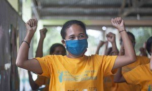 Des femmes et jeunes filles au Timor-Leste