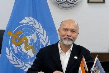 भारत में विश्व स्वास्थ्य संगठन के प्रतिनिधि, डॉक्टर रॉड्रिको एच ऑफ्रिन
