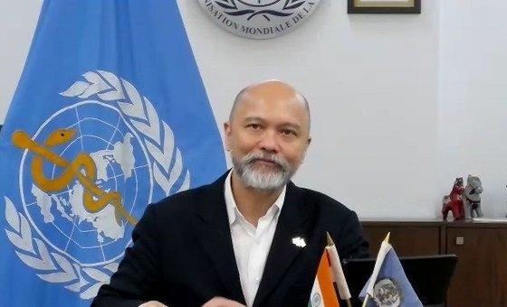 世卫组织驻印度代表奥弗林。