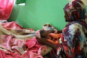 في السودان، تواصل القابلات عملهن لضمان أن تكون جميع الولادات آمنة حتى أثناء جائحة COVID-19.