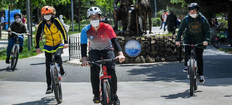 В период пандемии коронавируса велосипед для многих стал главным транспортным средством