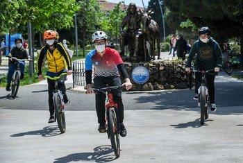 В период пандемии коронавируса велосипед для многих стал транспортным средством номер 1