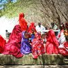 Somali women and girls wait to be seen at health clinic that treats civilians affected by extremist group Al-Shabaab in and around Mogadishu.