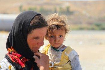 雅兹迪人一度逃离辛贾尔山,伊利伊斯兰国被击败后,他们从叙利亚重新进入了伊拉克。(资料图片)