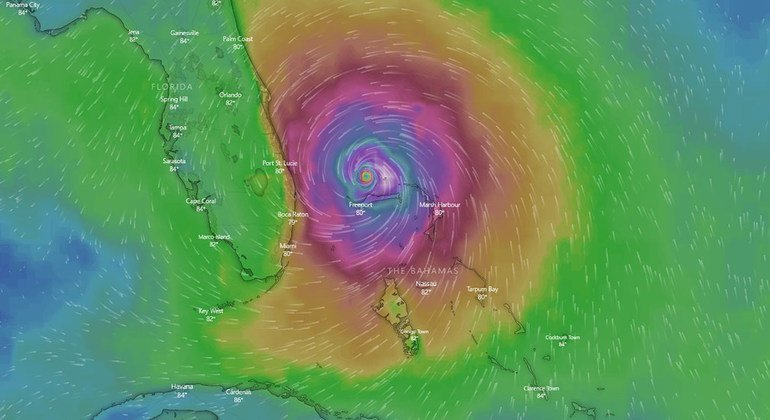 UN 'prioritizing needs', ramping up aid, as Hurricane Dorian continues to batter the Bahamas