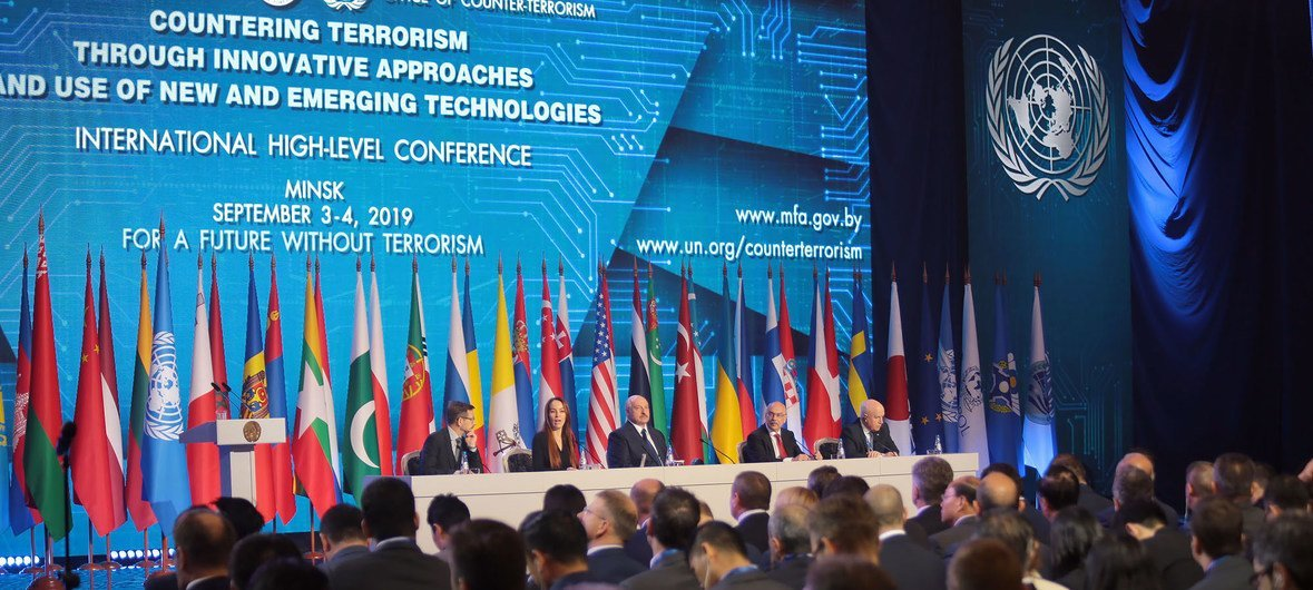 High-level Conference on Countering Terrorism and the Use of New Technologies, Minsk, Belarus. (3 September 2019)