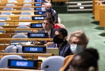 去年9月3日,联合国大会举行了自新冠疫情暴发以来的首场面对面会议。