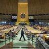 9月3日,联合国大会举行了三月以来的第一次面对面会议。
