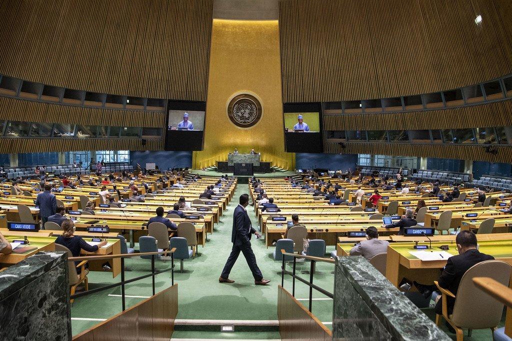 O ministro das Relações Exteriores das Maldivas foi escolhido com 143 dos 191 votos válidos