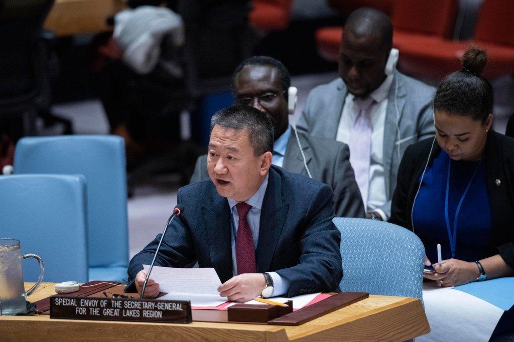 联合国秘书长非洲大湖区问题特使夏煌今天在安理会就该地区局势进行通报。