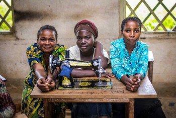 कॉंगो लोकतांत्रिक गणराज्य में महिलाओं को आजीविका चलाने के लिए संयुक्त राष्ट्र से सहयोग मिल रहा है.
