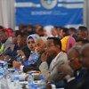Wawakilishi wa ngazi ya juu kutoka kwa serikali ya Somalia wanahudhuria mkutano wa ushirikiano mjini Mogadishu.(Oktoba  2019)