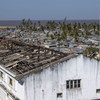 The view from the mayor's building of the desctruction caused by Cyclone Idai in Beira, Mozambiqu. (25 June 2019)