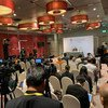 安东尼奥·古特雷斯秘书长在泰国曼谷东盟-联合国首脑会议上讲话后向新闻界发表讲话。(2019年11月3日)