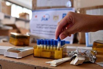 بدعم من الحكومة اليابانية، قام برنامج الأمم المتحدة الانمائي بتسليم وزارة الصحة في قطاع غزة معدات طبية من أجل المساهمة في تحسين مواجهة القطاع لفيروس كوفيد-19