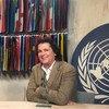 Carlos Vives en el estudio de Noticias ONU.