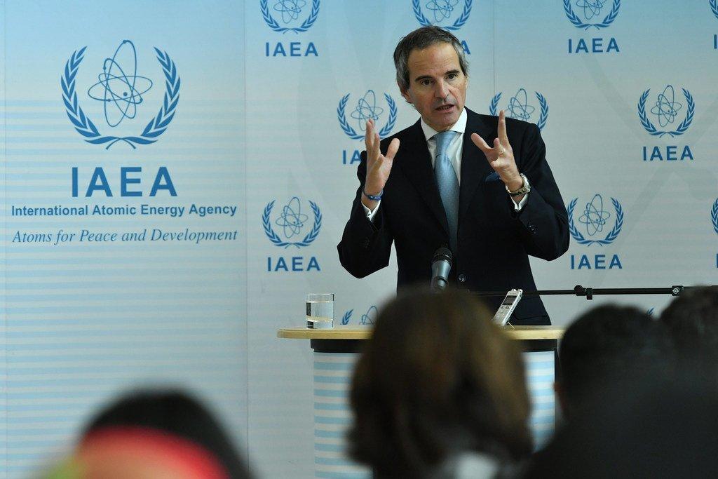 国际原子能机构新任总干事拉斐尔·马里亚诺·格罗西(Rafael Mariano Grossi)