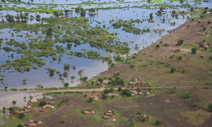 In Akobo in South Sudan, heavy flooding has affected the poverty-stricken community.