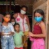 Desde el principio de la pandemia de COVID-19, los migrantes y refugiados venezolanos afrontan muchos desafíos, entre ellos la educación de sus hijos.