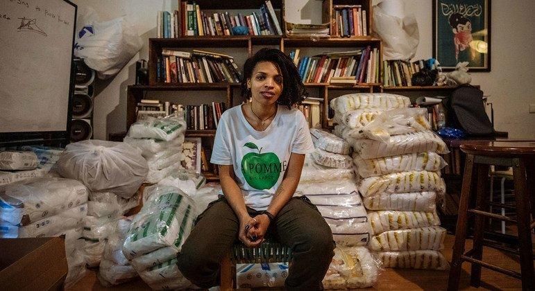 Tsigereda, une Ethiopienne de 25 ans, est devenue une cheffe de file pour les migrants dans le pays qui souffrent d'exploitation et d'abus de la part de leurs employeurs.