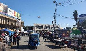 A market in Baghdad, Iraq. (file)