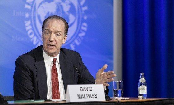 Presidente do Banco Mundial, David Malpass defendea rápida liberação demaisdosesdavacina para os países em desenvolvimento
