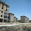Destroyed buildings in Aleppo, Syria, where chemical weapons were allegedly used. (file photo)