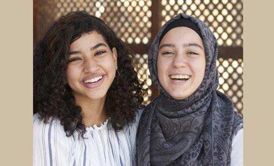 تعلمت حنين، 15 عاما، الكثير عن أضرار ختان الإناث من شبكة تعليم الأقران الشباب.
