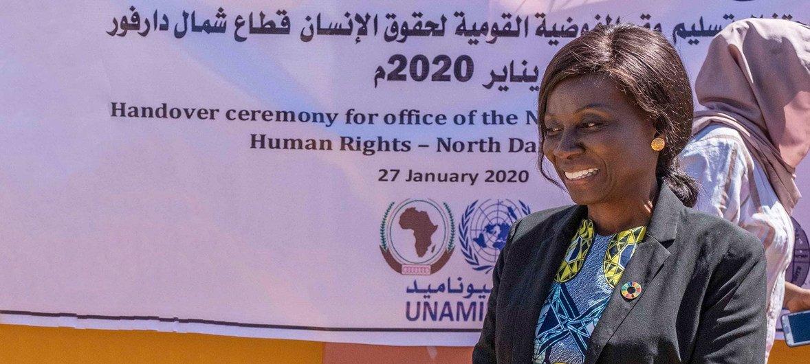 非洲联盟-联合国达尔富尔混合维和行动副联合特别代表阿妮塔·戈贝欧