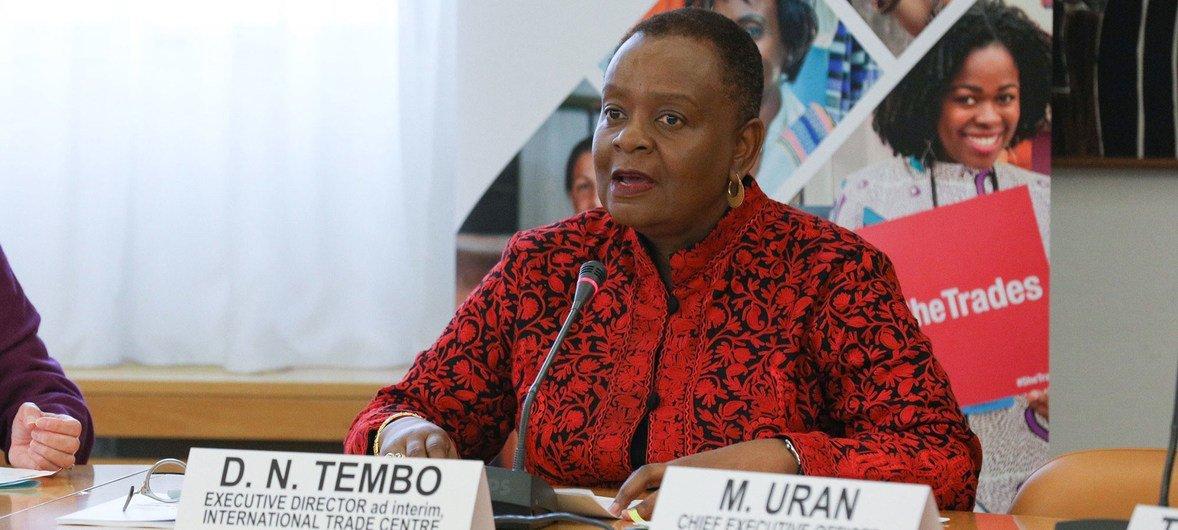 联合国国际贸易中心代理执行主任多萝西·滕博
