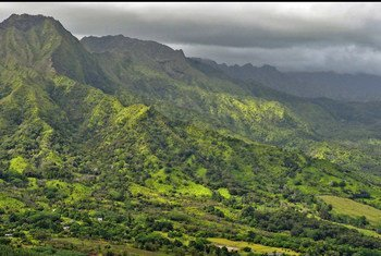 Hawaii's landscape is largely volcanic.