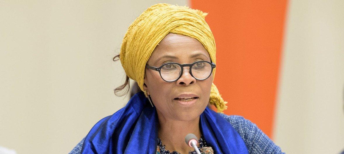 联合国开发计划署助理署长兼非洲区域主任阿胡娜·伊扎康瓦