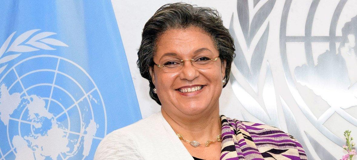 联合国秘书长非洲联盟特别代表汉娜·塔特