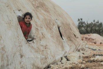 Vipimo vya joto ni nyuzi joto chini ya selsiasi 10 nchini Syria