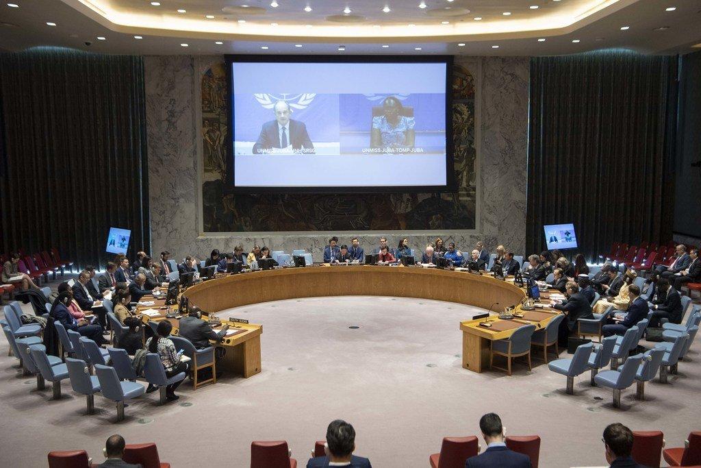 مبعوث الأمم المتحدة إلى جنوب السودان يسلط الضوء على التطورات الإيجابية