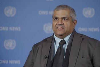 सहायक महासचिव और न्यूयॉर्क में यूएन पर्यावरण कार्यक्रम के प्रमुख सत्या त्रिपाठी.