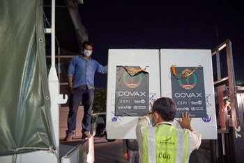324,000 doses of the AstraZeneca COVID-19 vaccine were delivered to Cambodia as part of the COVAX Facility on 2 March.
