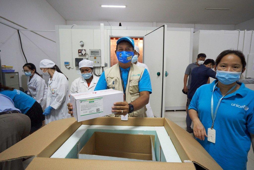 Cambodia ikipokea dozi 324,000 za AstraZeneca dhidi ya COVID-19 kupitia mkakati wa chanjo wa COVAX