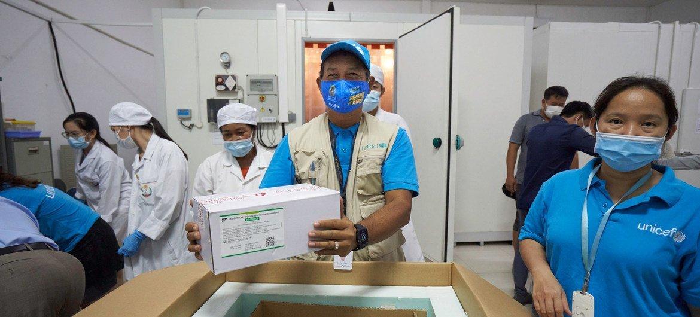 A maioria dos países em desenvolvimento conseguiu administrar uma única dose do imunizante