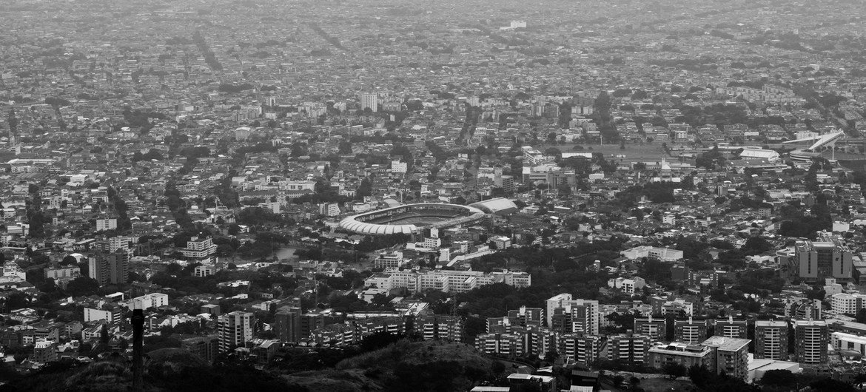 Cáli, cidade da Colômbia onde aconteceram episódios de violência durante protestos