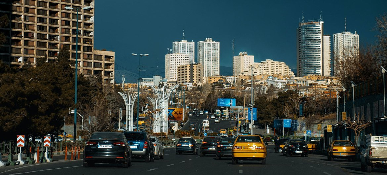 Вид на Тегеран, столицу Ирана