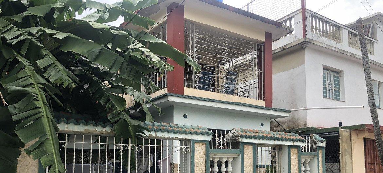 Barrio de Marianao en La Habana, donde Clara López Baro y su hijo Johathan pasan el confinamiento debido a la pandemia de COVID-19.